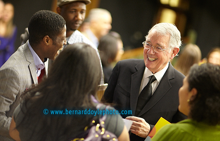 Chairman Emeritus speaking to students of City College about Bill Bernbach's legecy    © Bernard Doyle Photography 2014