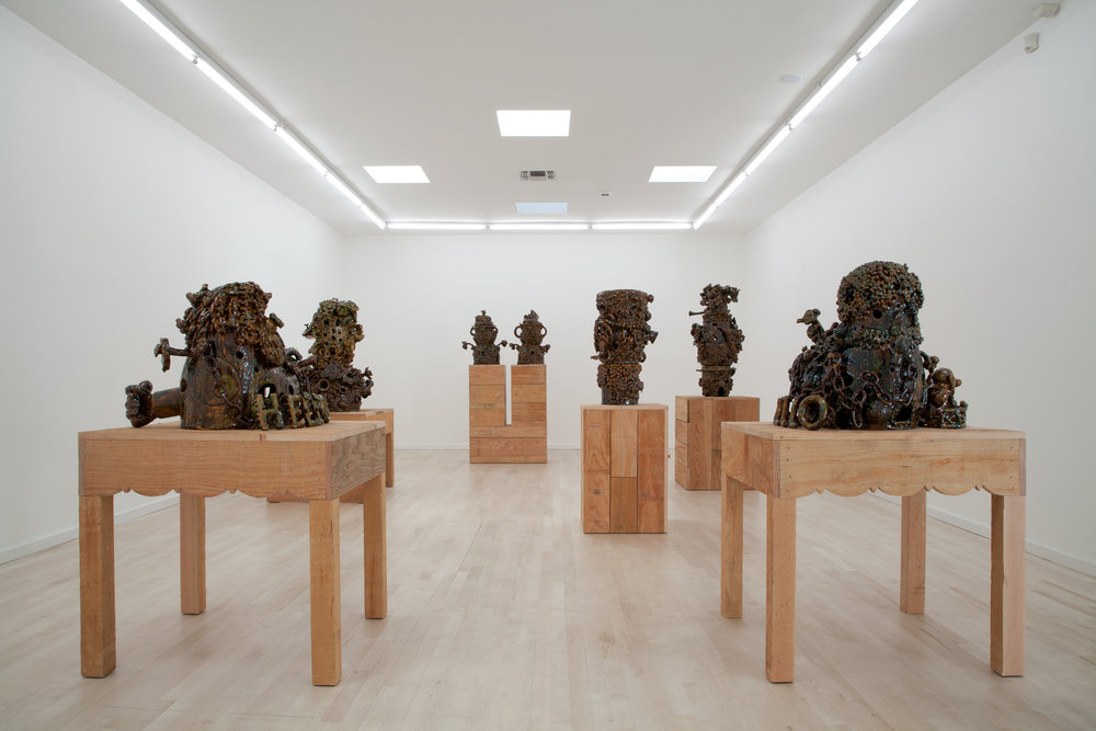 Shamrock, Edelweiss, Seaweed, installation view, Ambach and Rice Gallery, Los Angeles, CA 2012