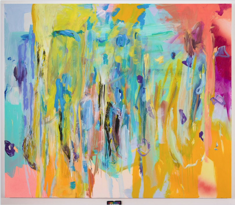 "UNTITLED | oil on canvas 65""x78"", 2015, Image courtesy of the artist and Bernard Ceysson Gallery"