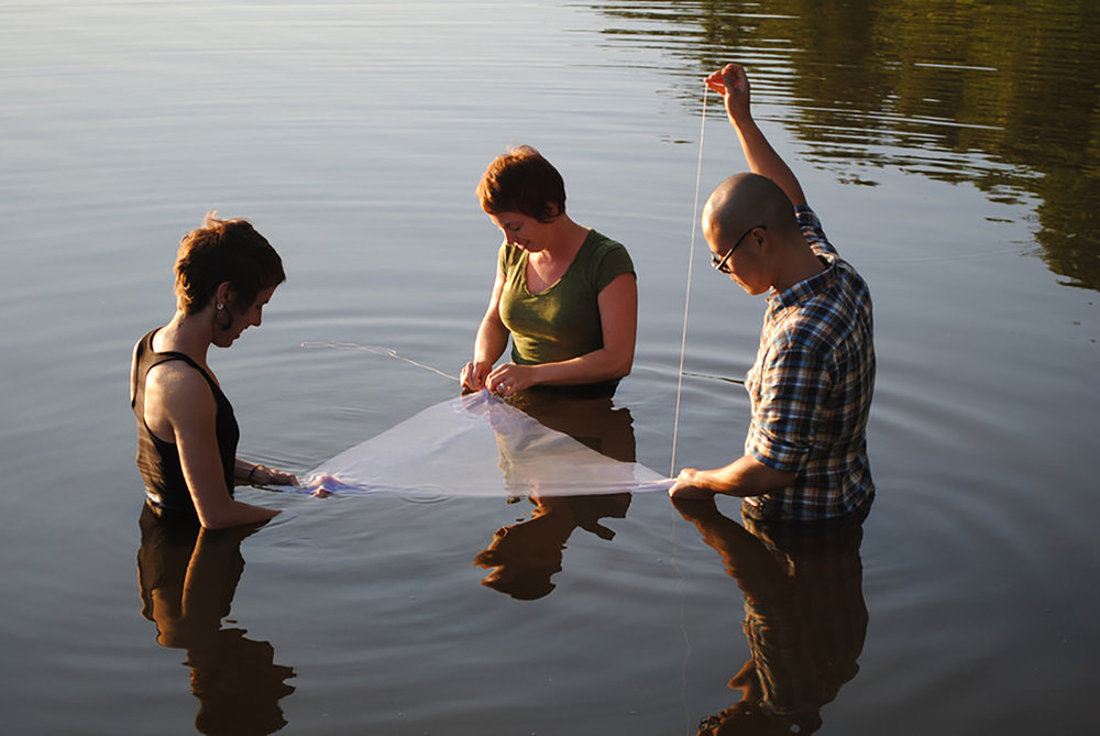 SEWING THE SURFACE OF THE WATER | Performance, 2011 (Craft Mystery Cult)