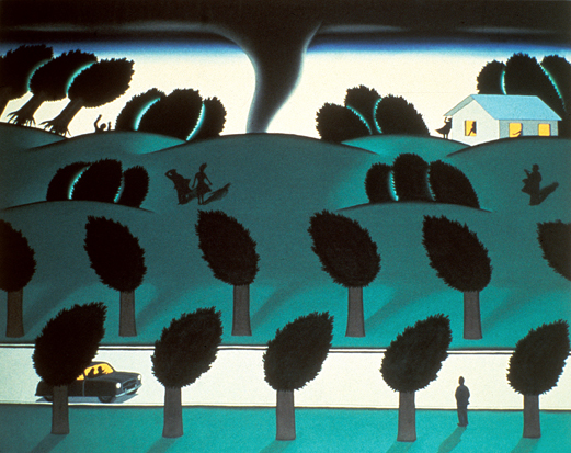 Roger Brown   Twister,  1972