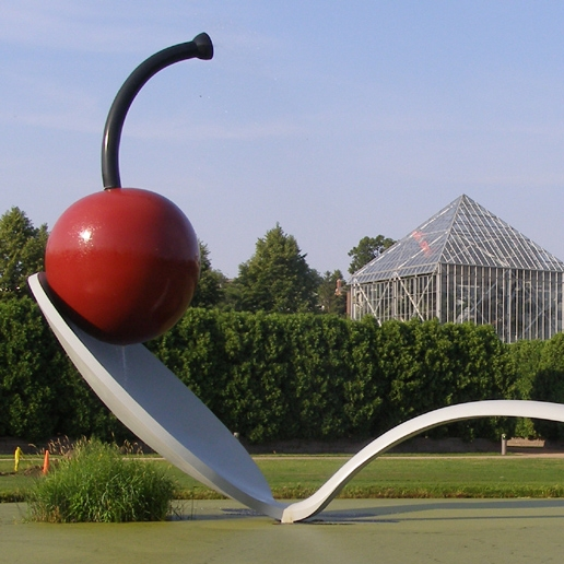 Claes Oldenburg   Spoon bridge and Cherry, 1988