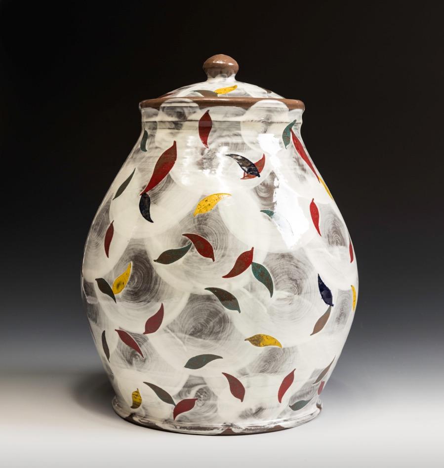 Sanam Emami ,  Jar , 2017, ceramic (stoneware)