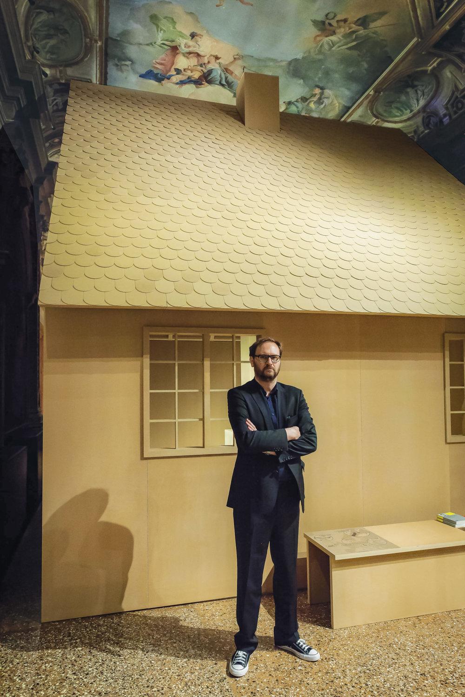 Dieter Roelstraete Venice Biennale 2018