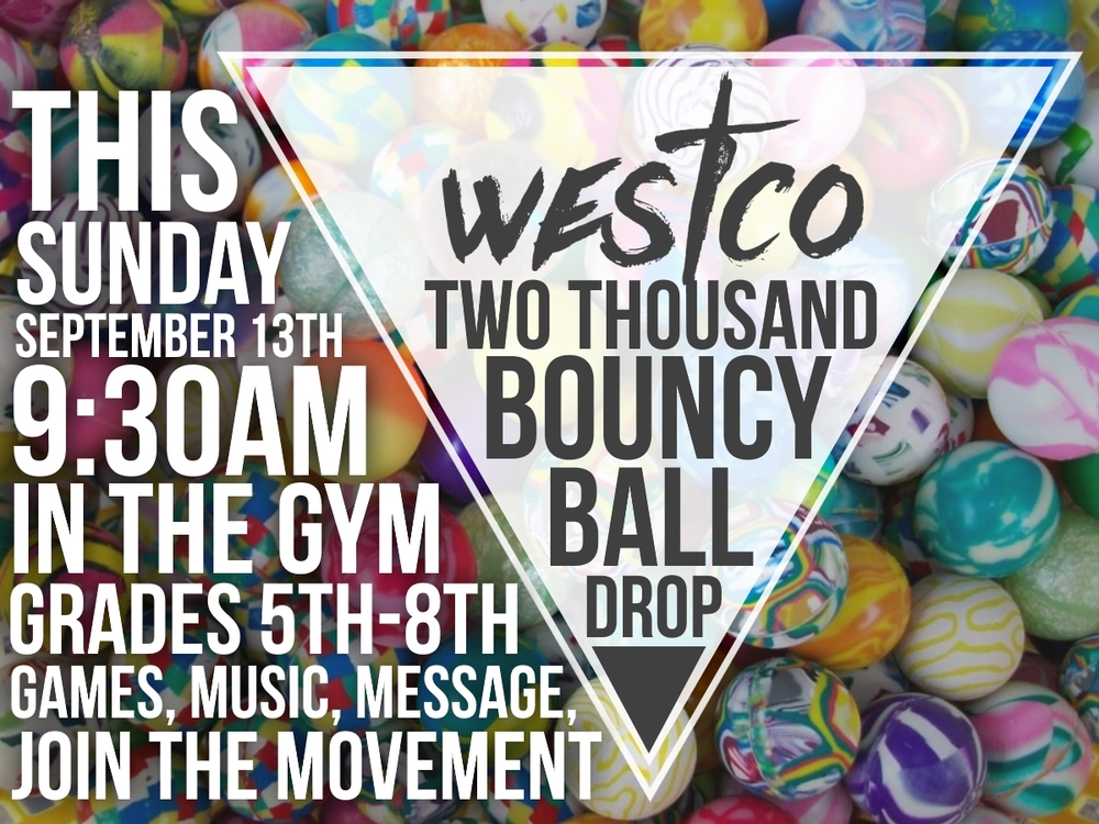 WestCo Bouncy Ball Drop