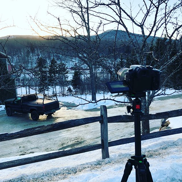 MORE TIMELAPSES special thanks to @christieleighhh for helping pick a spot . . . #panasonic #lumix #gh4 #sunset #timelapse #killington #killingtonvt #skithebeast #beast365 #snow #clouds #cold