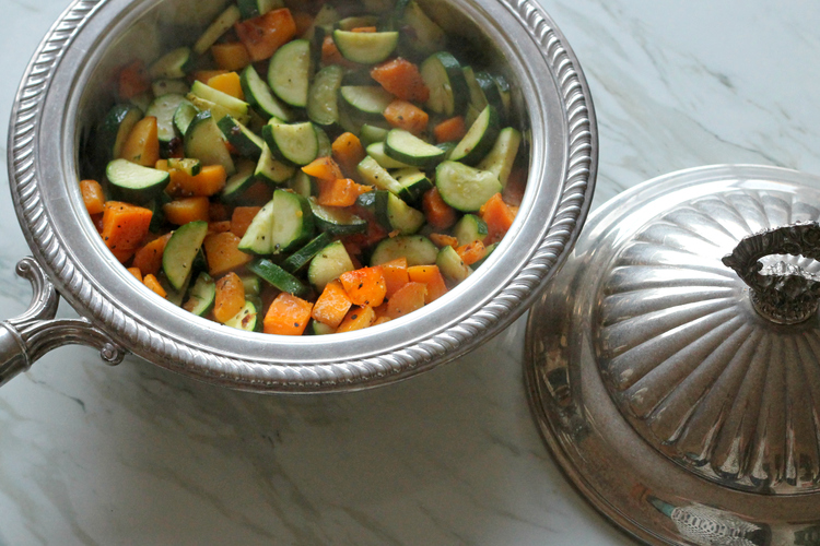 Peppered Zucchini and Butternut Squash