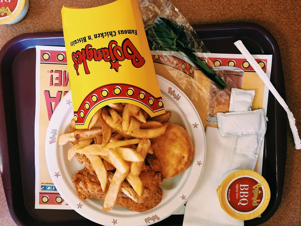 It would not be a trip to Roatan without a trip to Bojangles.