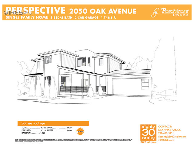 2050 Oak Avenue - $1,225,000 - Buyer Side