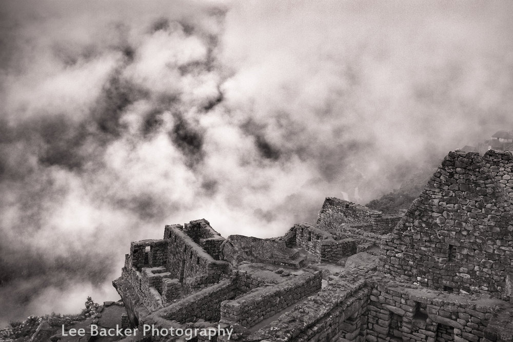 Machu Picchu, In the Clouds