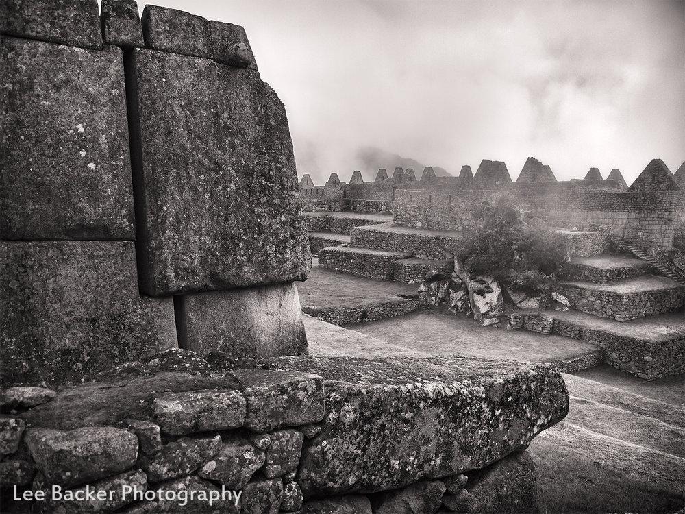 Creeping Fog, Machu Picchu