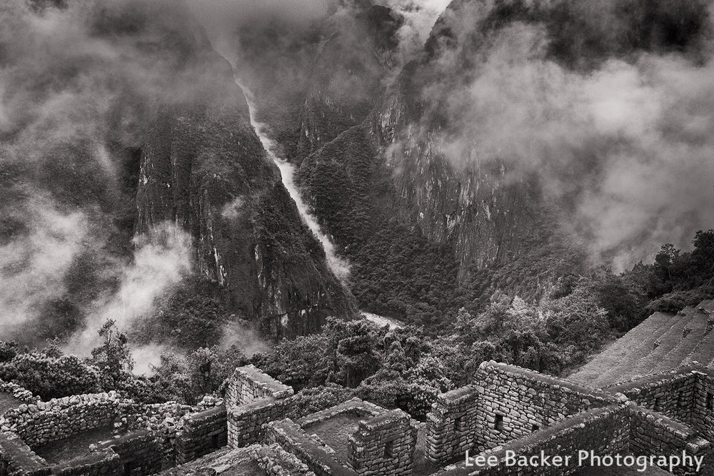Ruins and Mountain, Machu Picchu