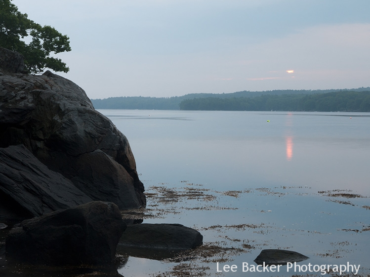 Sunrise on the Damariscotta River