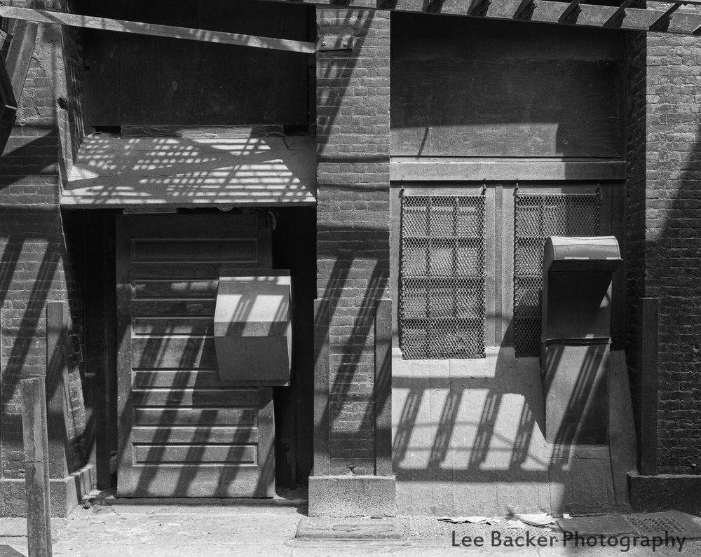 Shadows, Jay Street, TriBeCa, 1981