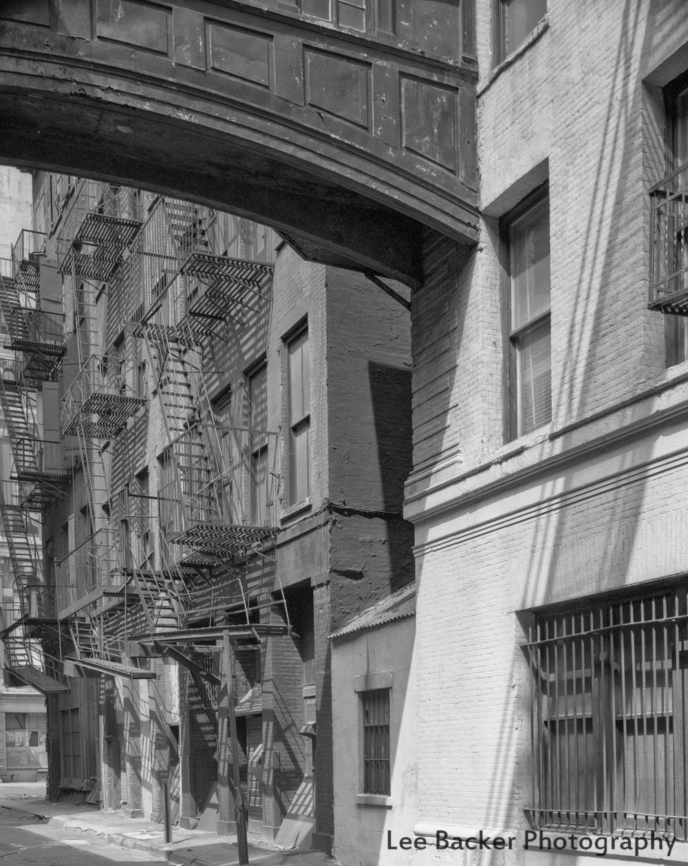 Jay Street, TriBeCa, 1981