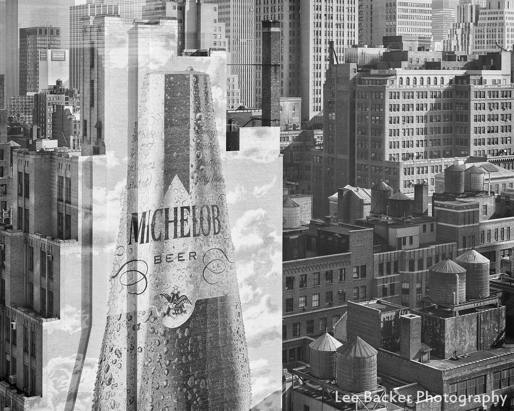 Michelob Beer, New York City, 1986