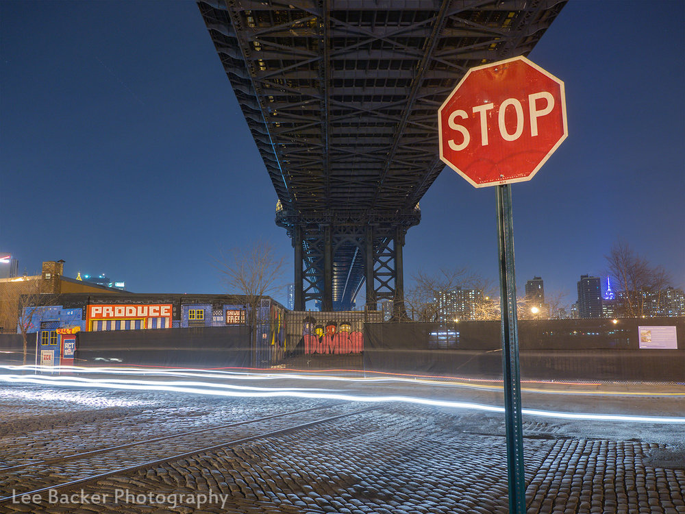 Under the Manhattan Bridge, Brooklyn