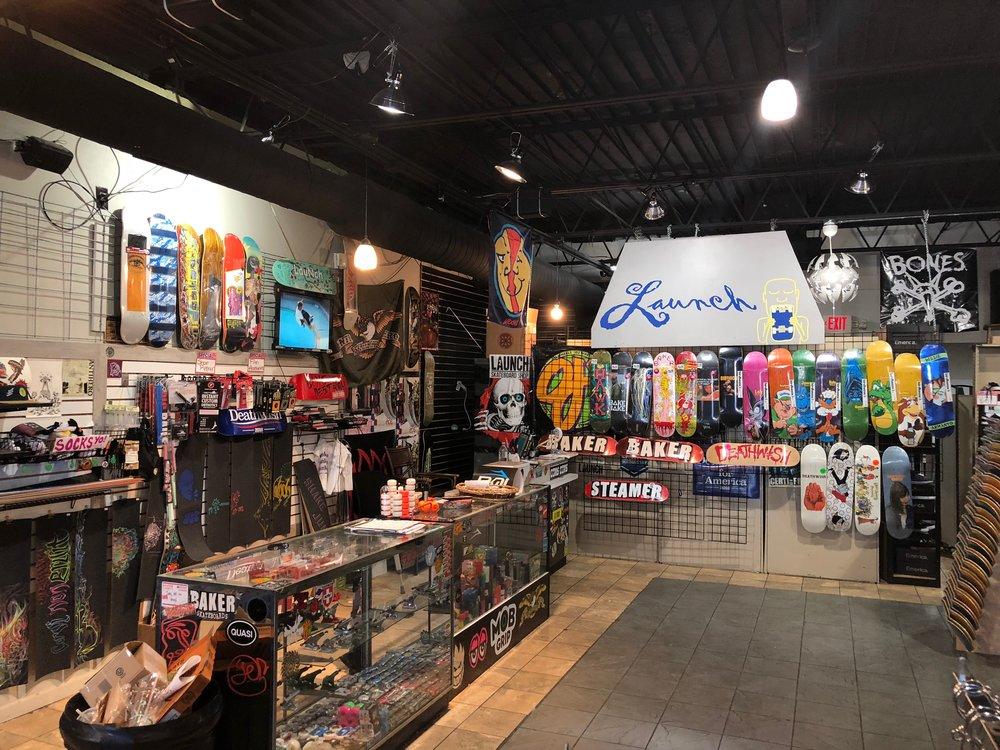 Welcome To Launch - Ann Arbors Local Skate Shop3130 Packard St. Ann Arbor, Michigan 48108(734)-82SKATEMon-Sat 12pm-7pmSun 12pm-6pm