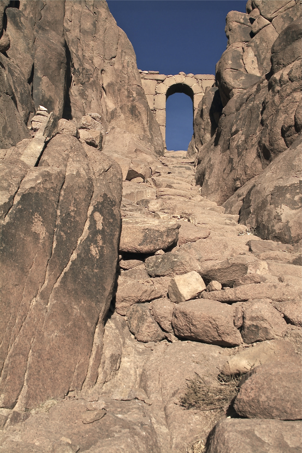 Path to the Summit of Sinai
