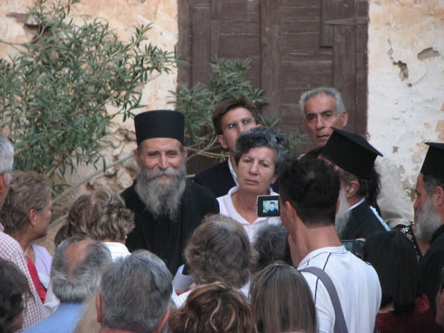 Elder Pavlos and Visitors