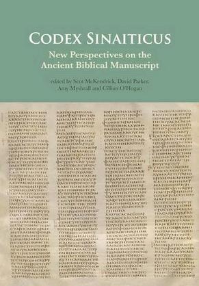 new perspectives on the ancient biblical manuscript friends of  one of the essays was written by archbishop damianos of sinai on the shepherd of hermas and its inclusion in codex sinaiticus in the conclusion he notes