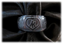 Silver rings bearing the Saint's monogram are given to pilgrims who hand them down through generations as a perpetual blessing of pilgrimage to Mount Sinai.