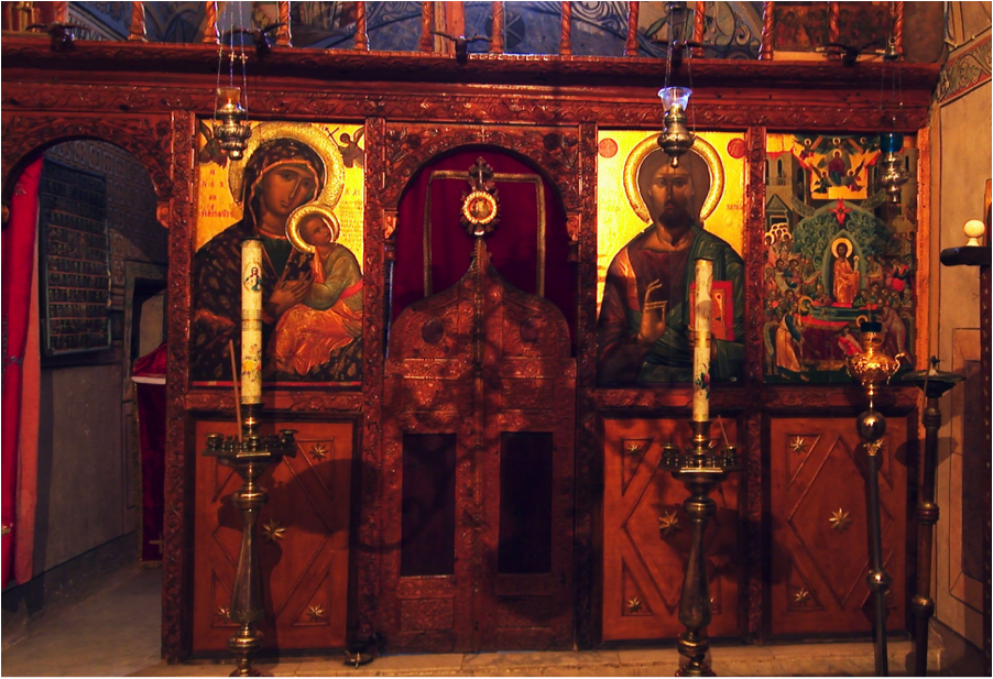 Dormition at the Burning Bush — Friends of Mount Sinai Monastery