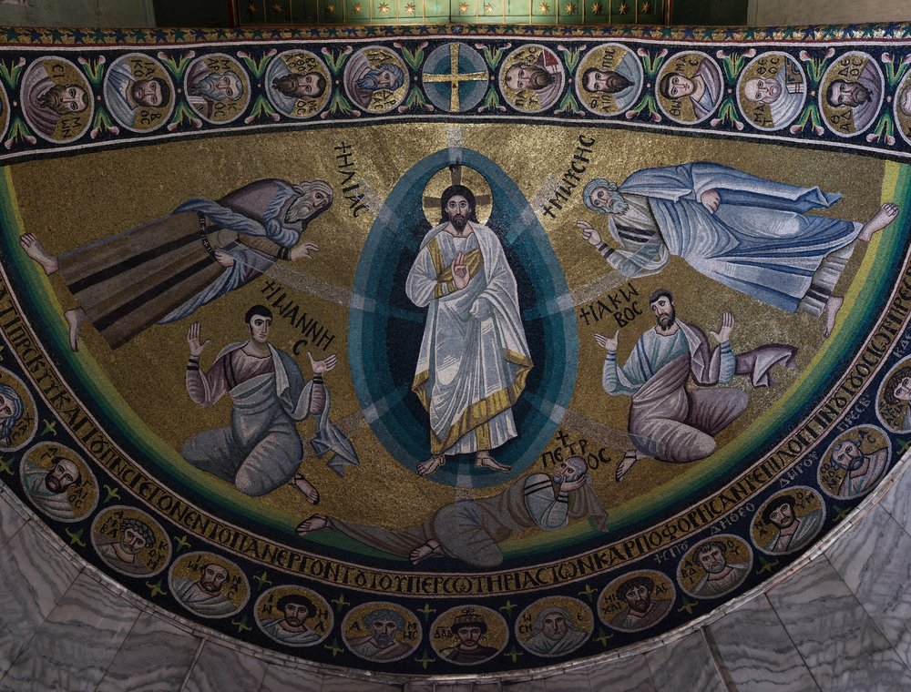 Sinai's mosaic Transfiguration of Christ was recently restored to sixth century brilliance following restoration generously funded by the Emir of Qatar. Additional funding was also provided by The Getty Museum.