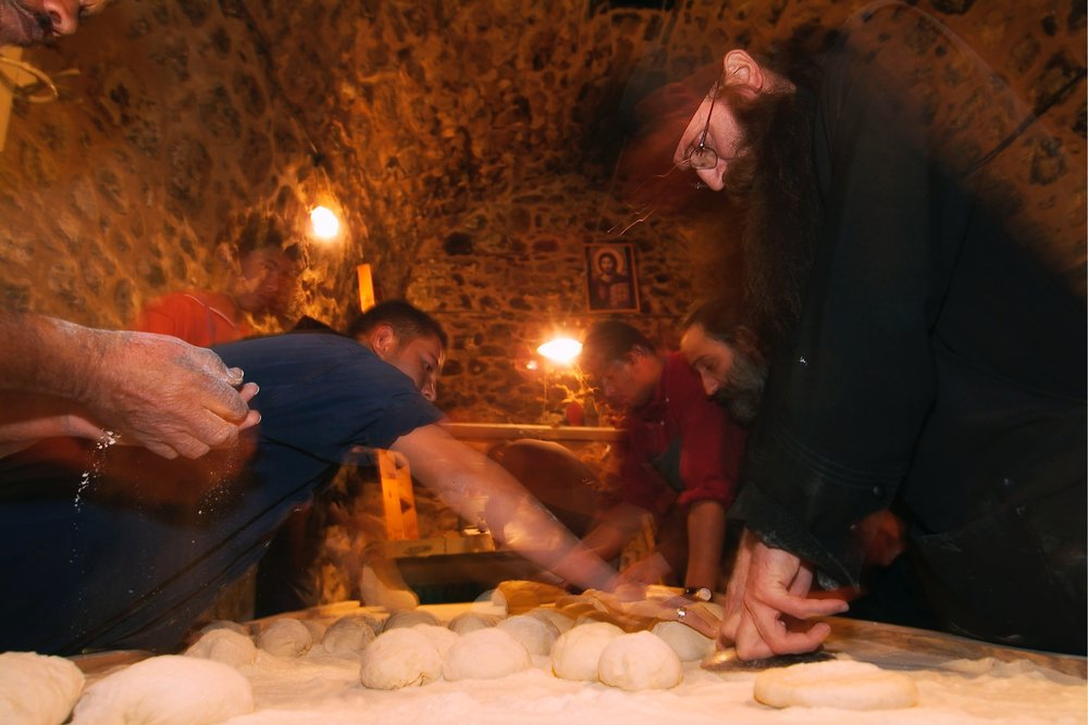 In the Monastery Bakery