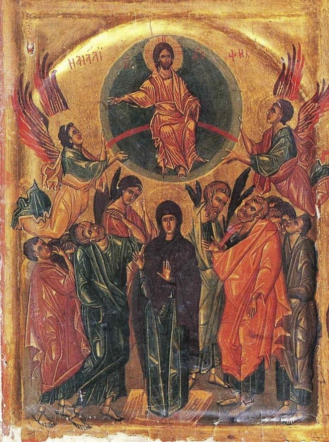 Ascension icon, Sinai