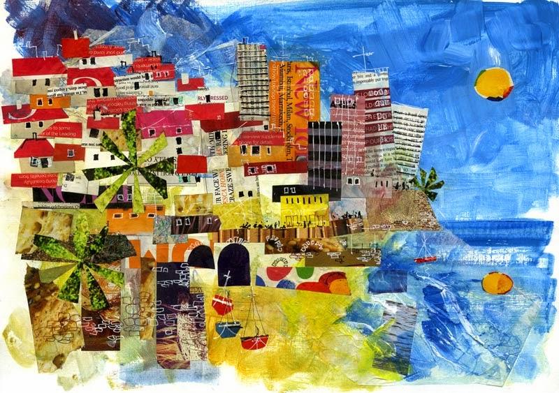 Heeley Art Club Collage — Bryn Hughes, Award Winning Sheffield ...