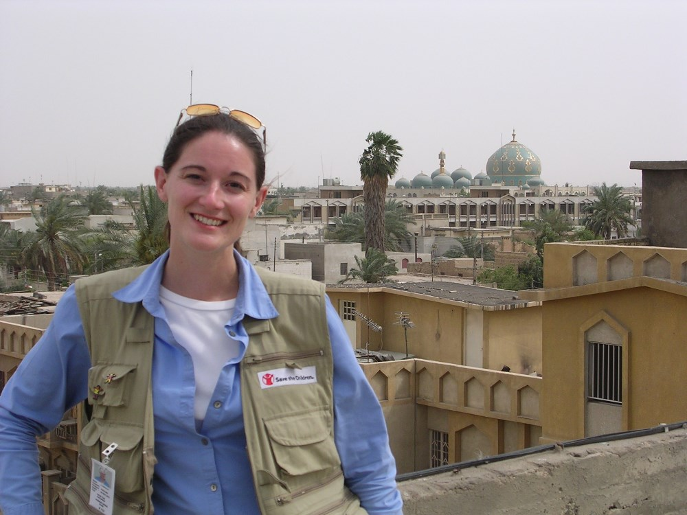 Globe Trotter:  To date, Laura has worked as a nonprofit communications consultant on four continents.