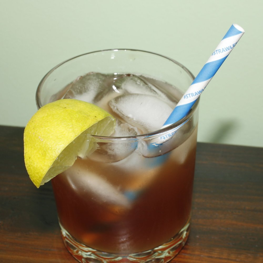 "6"" Strawless Ocean Cocktail Straw"
