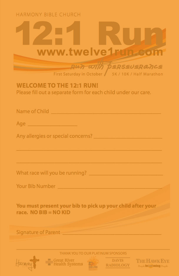 Download Child Check-in Form