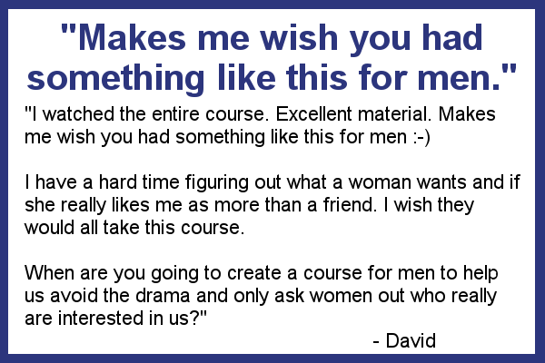 Dave testimonial for The 13 Reasons sales page