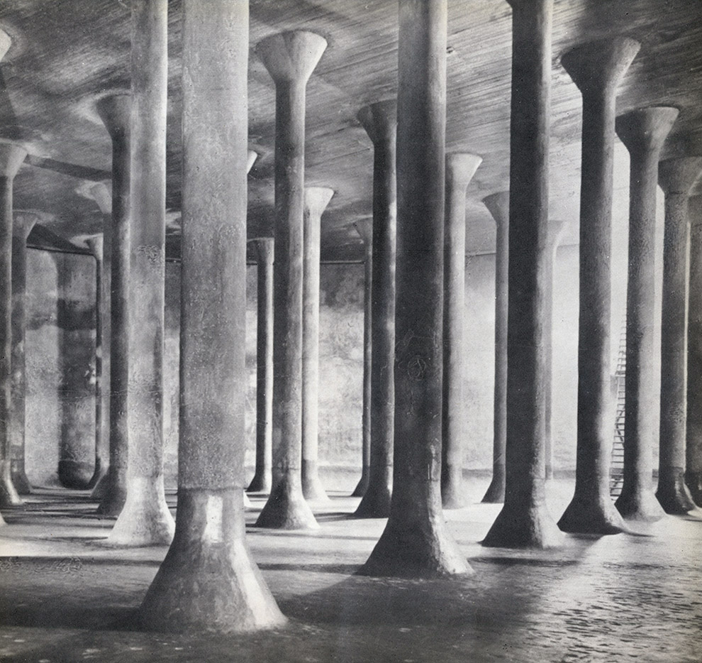 wmud :     pier luigi nervi - serbatoi interrati per benzina, palermo, 1940