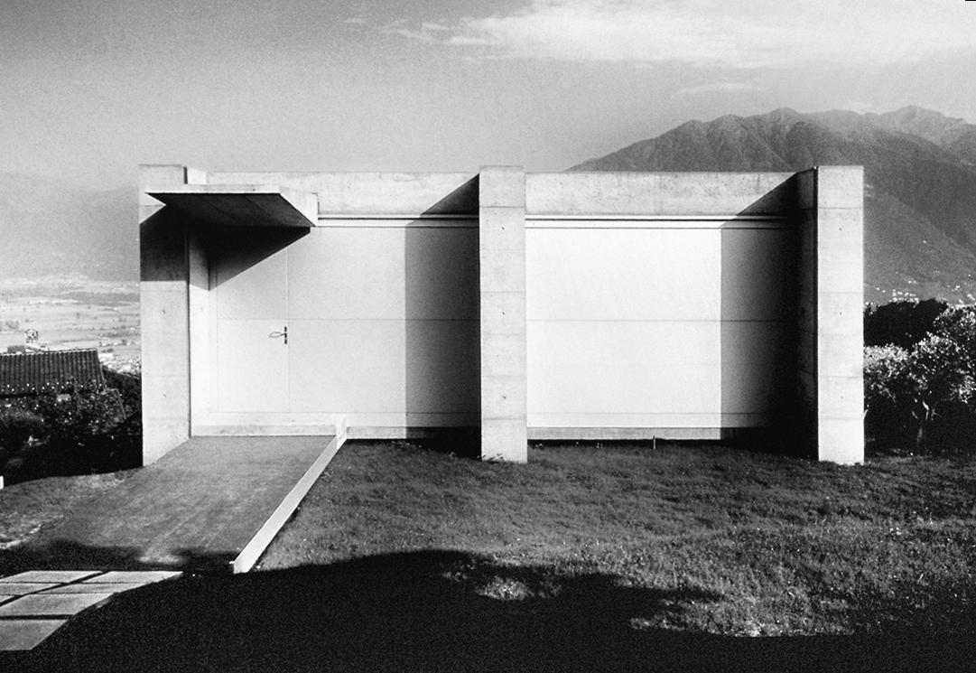 wmud :     livio vacchini - casa costa vacchini, tenero-contra, switzerland, 1993