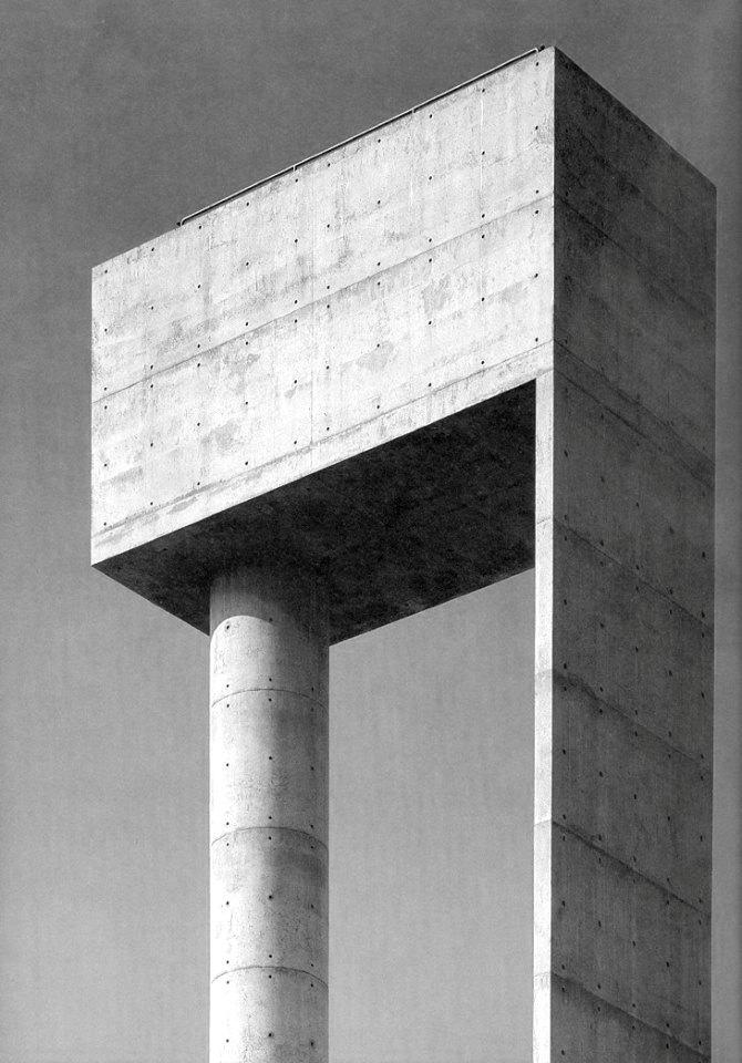 poetryconcrete :      Water Tank at Aveiro University   , Álvaro Siza, ,  1991, in Aveiro, Portugal.