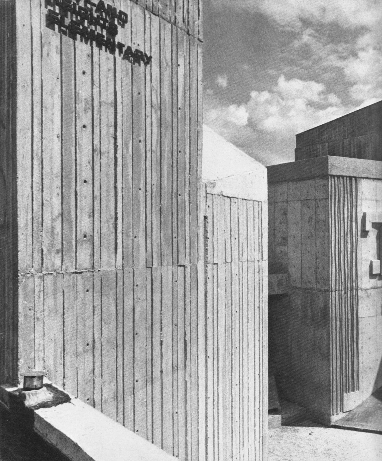 fuckyeahbrutalism :     Maryland Heights Elementary School, Calgary, Alberta, Canada, 1968   (Gordon Atkins)