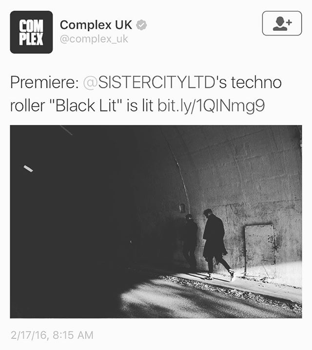 Our next EP is coming out via @boysnoizerecords — Complex has premiered the first track, link in bio. ⚫️