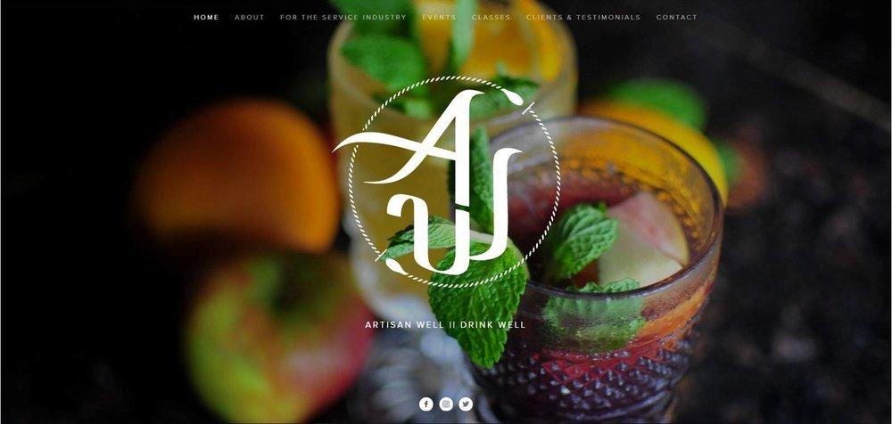 Artisan Well Website Design