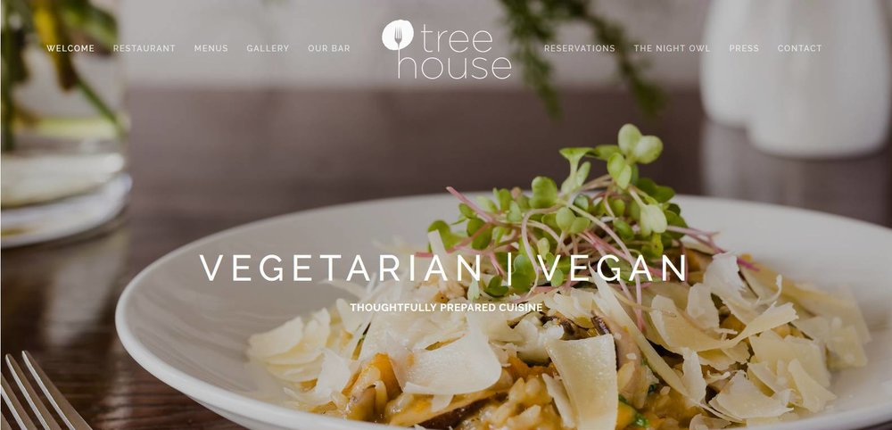 Tree House Website Design