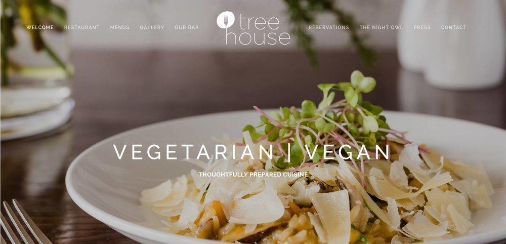 Tree House Website Design