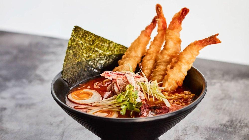 Seafood ramen at Nami Ramen. | Michelle Schwartz