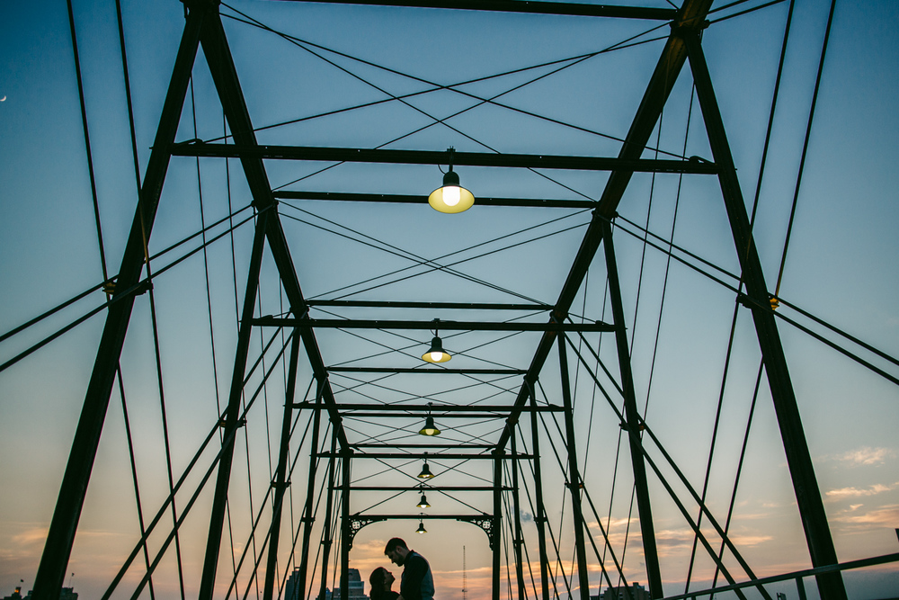 Hayes street bridge - san antonio wedding photography
