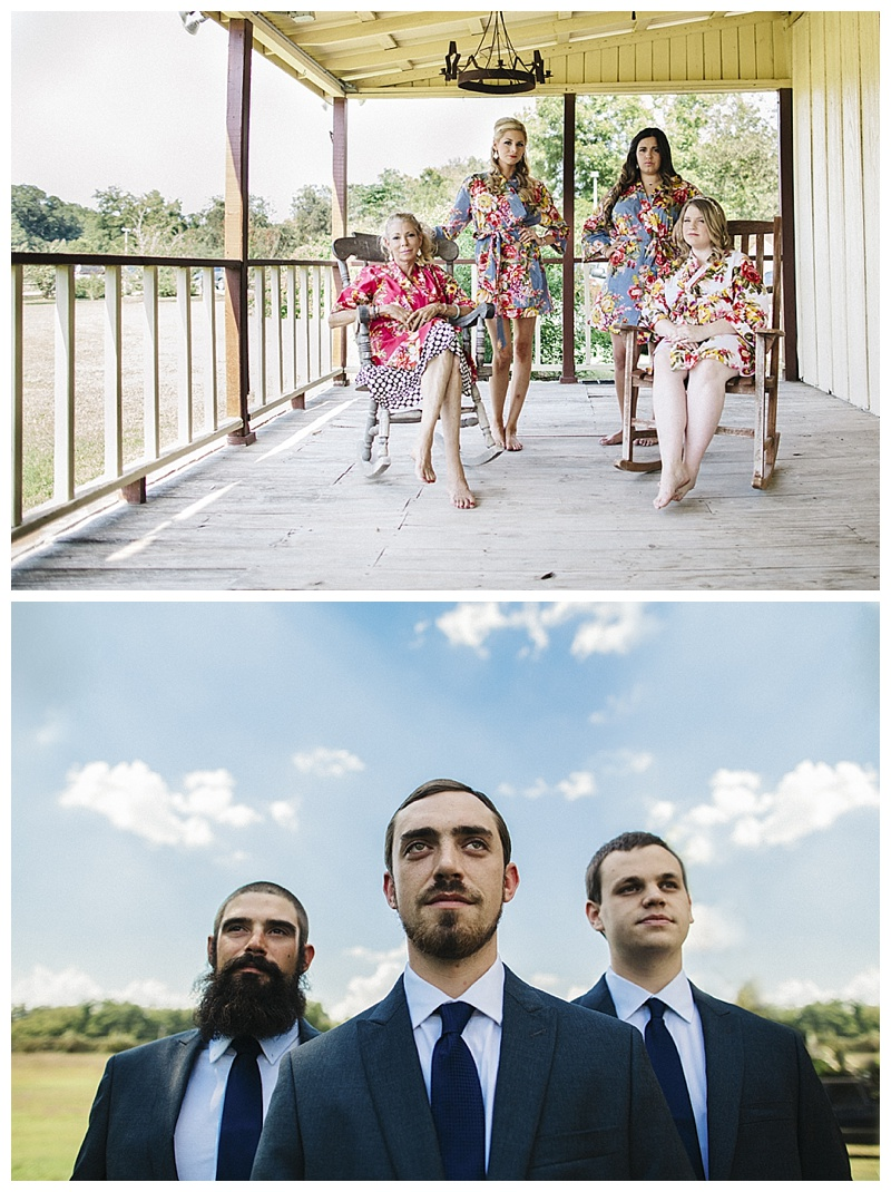 bridesmaids and groomsmen - san antonio wedding