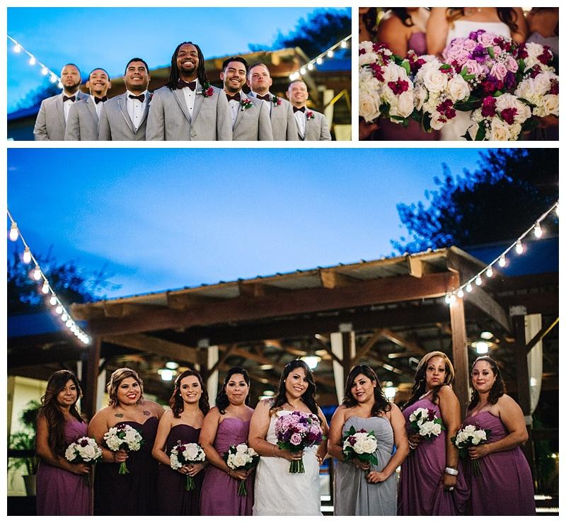 Bridal party - san antonio wedding