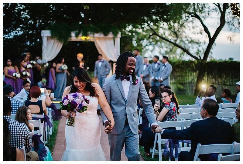 Exit ceremony - San Antonio wedding