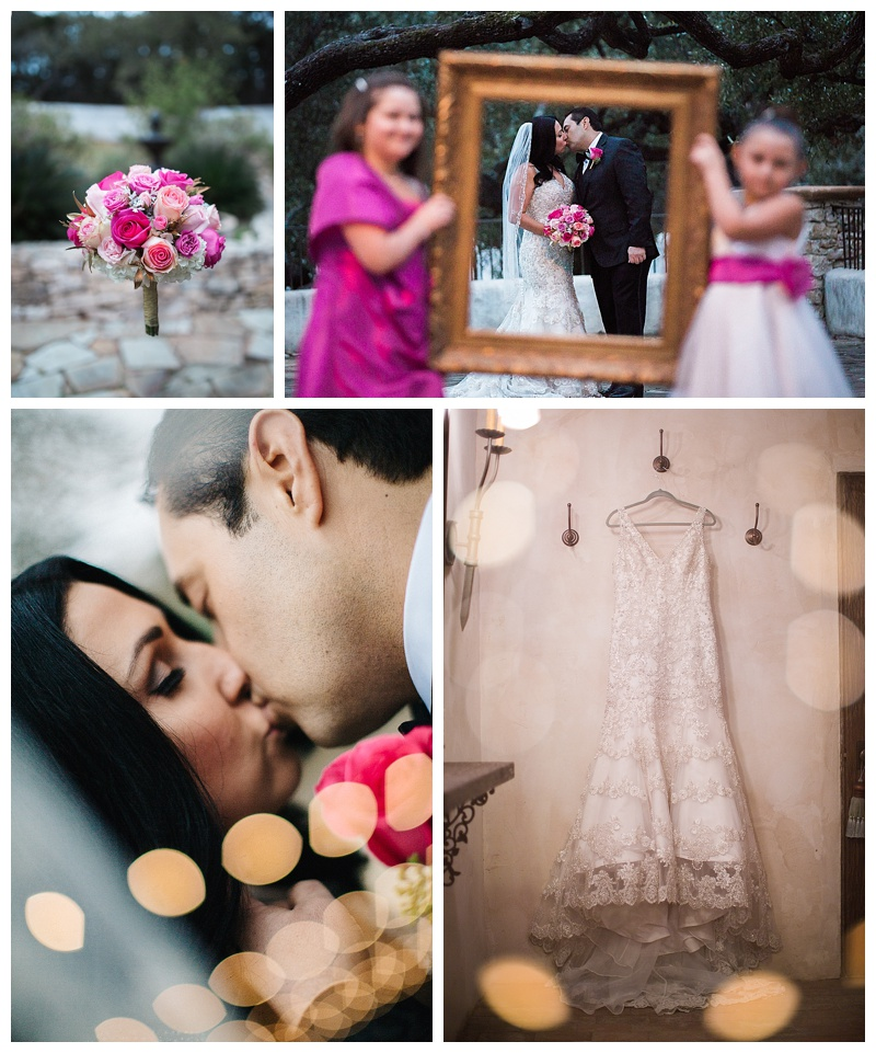 epic portraits - lost mission san antonio wedding