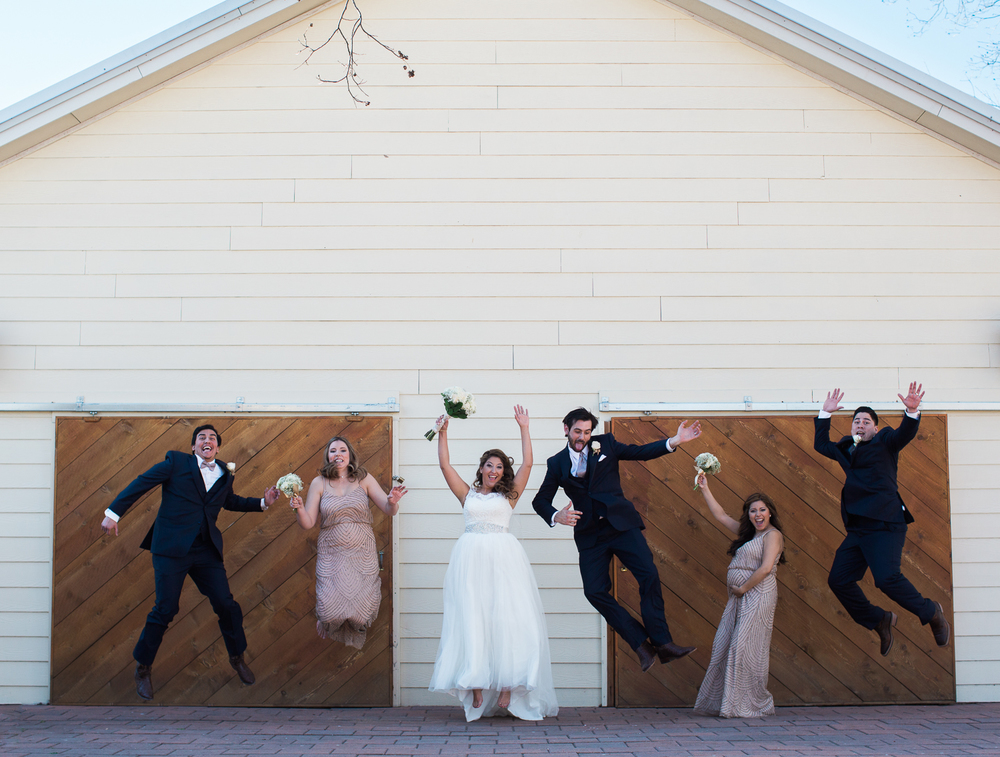 fun fun fun bridal party